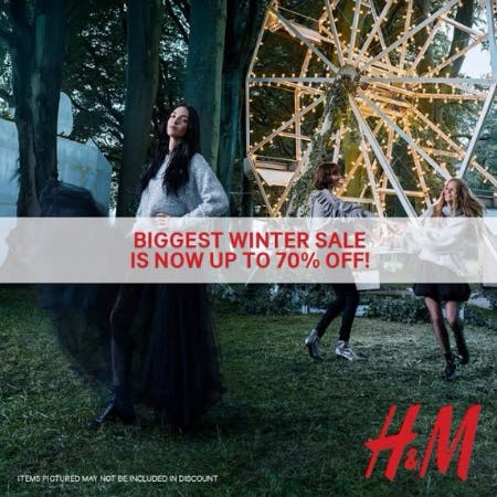 Winter Sale Now up to 70% Off