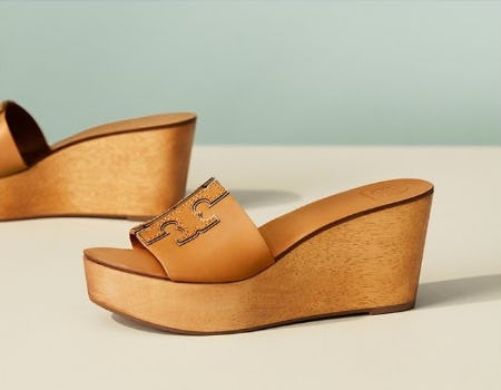 The Wedge Is Back from Tory Burch