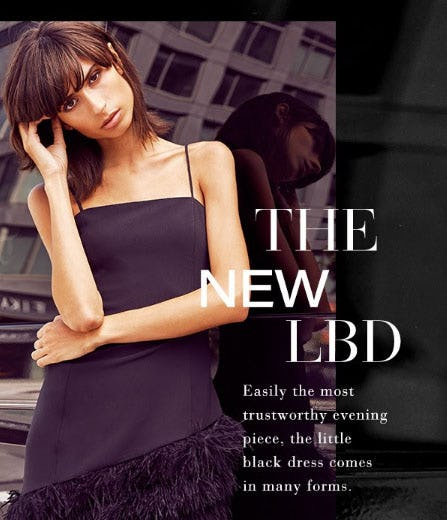 The New LBD from Saks Fifth Avenue