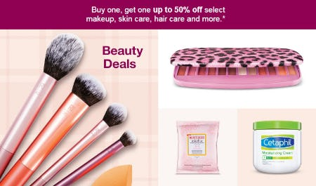 BOGO Up to 50% Off Beauty Deals from Target