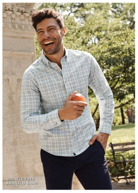 Fall's Best Wrinkle-Free Checks and Plaids