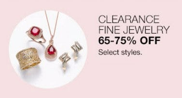 Clearance Fine Jewelry 65-75% Off