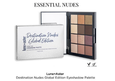 Destination Nudes Global Edition Eyeshadow Palette from Blue Mercury