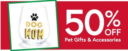 50% Off Pet Gifts & Accessories from Things Remembered