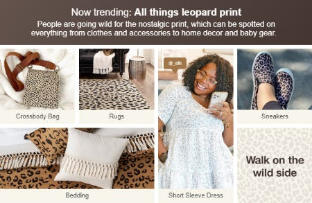All Things Leopard Print from Target