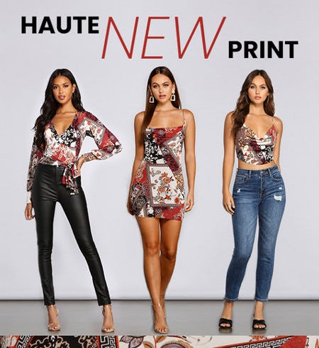 You'll Love These Haute New Prints