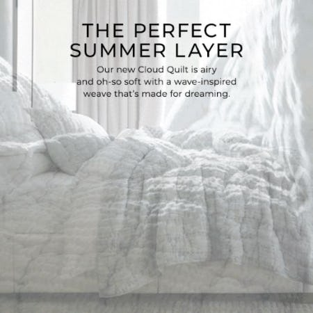 New Arrivals for Summer Days Ahead from Pottery Barn