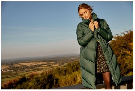 Meet the Quilted Jackets & Coats from Ted Baker London