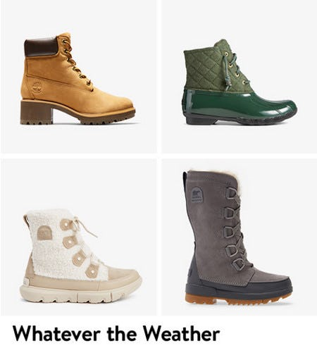 Hiking and Outdoor Boots for the Season Ahead from Nordstrom