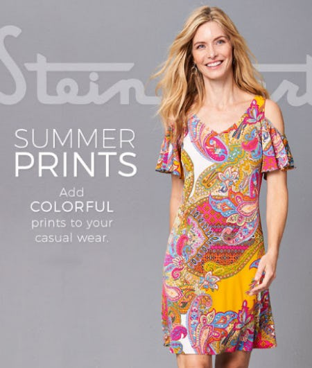 Perfect Summer Prints from Stein Mart