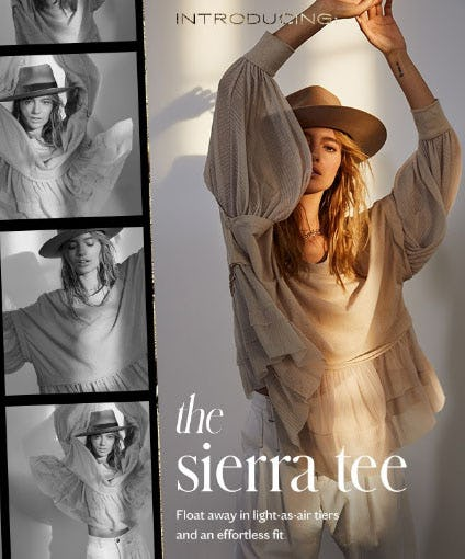 Introducing The Sierra Tee from Free People