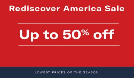 Rediscover America Sale from Allen Edmonds