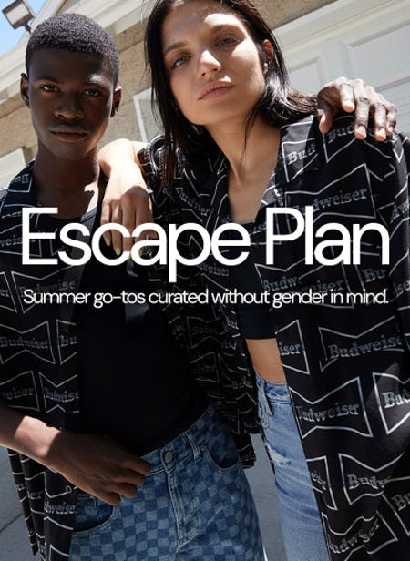 New Gender-Free Summer Arrivals from PacSun