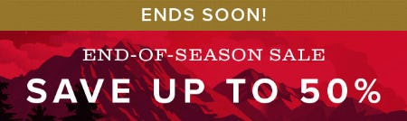 Up to 50% Off End-Of-Season Sale from Orvis