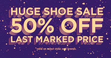 Huge Shoe Sale: 50% Off Last Marked Price from Zumiez