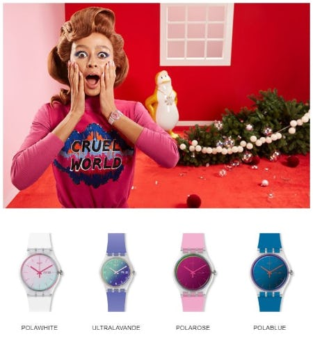 Shining Times from Swatch