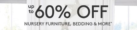 Up to 60% Off Nursery Furniture, Bedding & More from Pottery Barn Kids