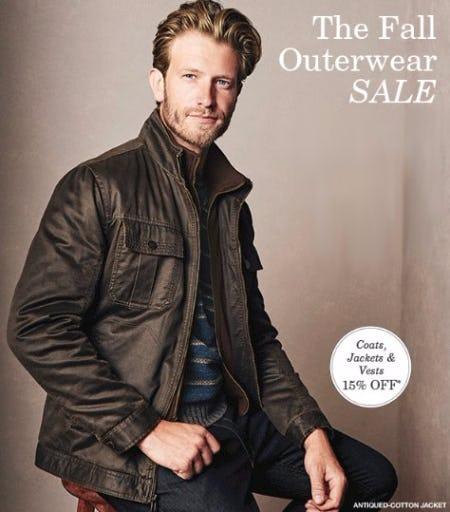 Coats, Jackets & Vests 15% Off