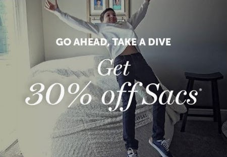 30% Off Sacs from Lovesac