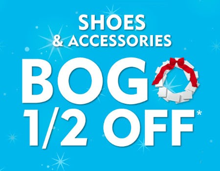 BOGO 1/2 Off Shoes & Accessories from Shoe Carnival