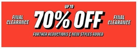 Final Clearance up to 70% Off from TOPSHOP
