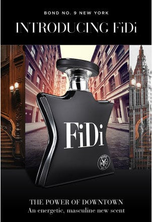 Discover FiDi: Bond No. 9 New York's New Scent from Saks Fifth Avenue
