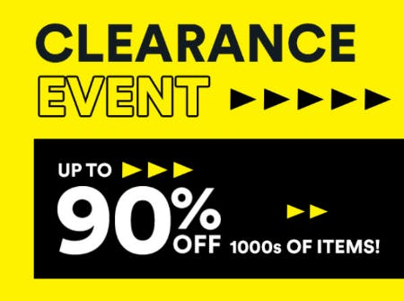 Clearance Event Up to 90% Off from Michaels
