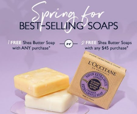 Best-Selling Shea Soaps for Free