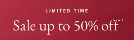 Sale up to 50% Off from Abercrombie & Fitch