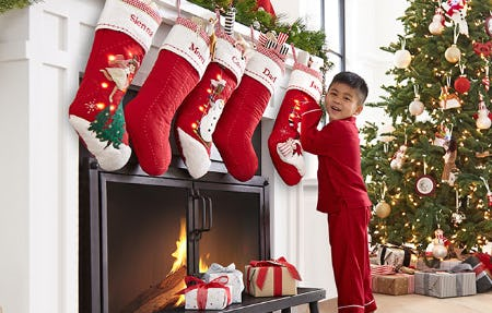 The Christmas Collection from Pottery Barn Kids
