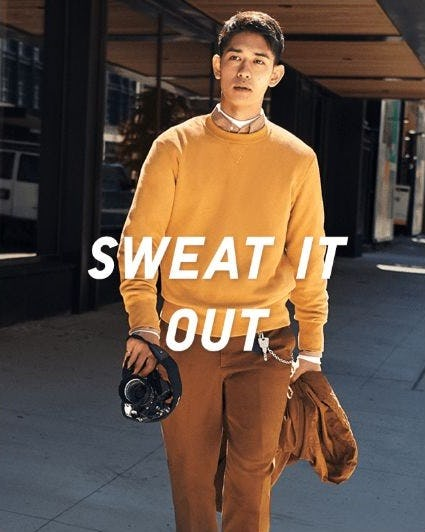 Stylish New Sweats from Uniqlo