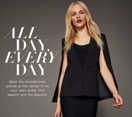 The Unquestionable Essentials from BCBG