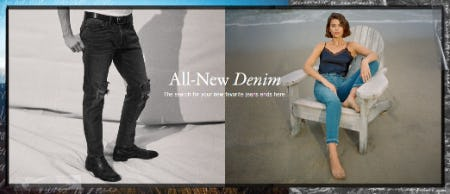 All-New Denim from Abercrombie & Fitch