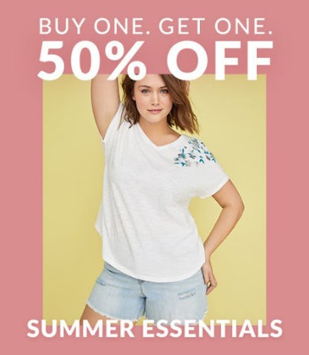 Buy One, Get One 50% Off Summer Essentials