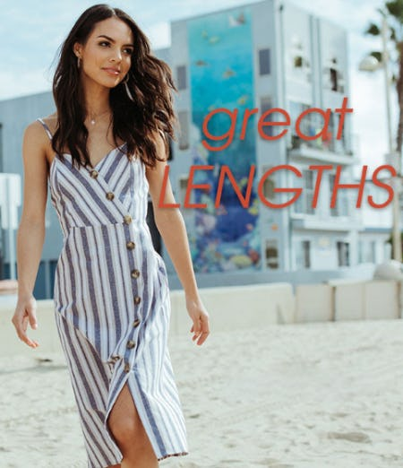New Great Lengths Dresses from Tillys