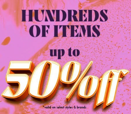 Hundreds of Items up to 50% Off from Zumiez