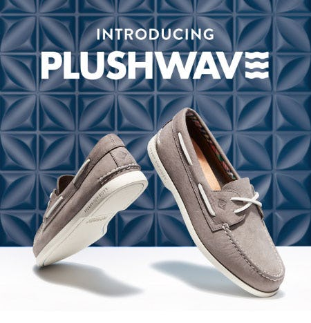 Introducing the Plushwave Collection from Sperry Top-Sider
