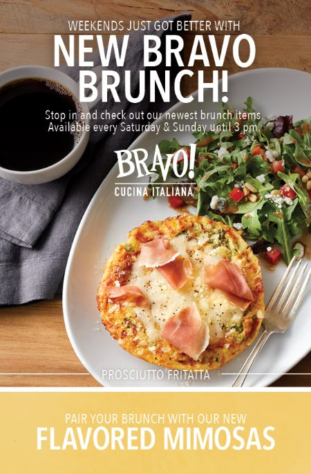 Brunch at BRAVO!