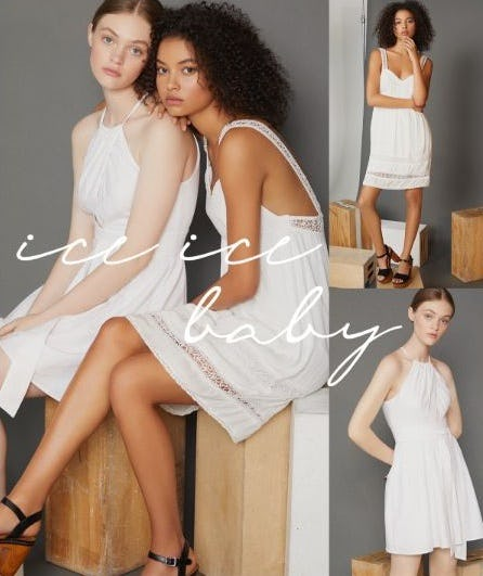 White Hot Looks from BCBG