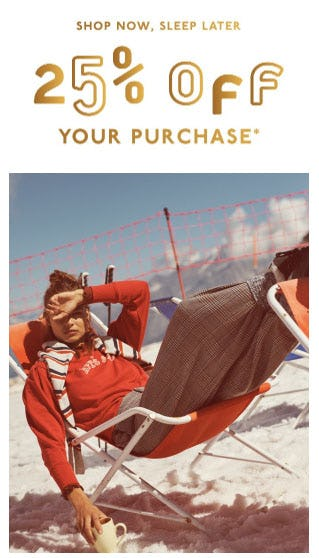 25% Off Your Purchase from Madewell