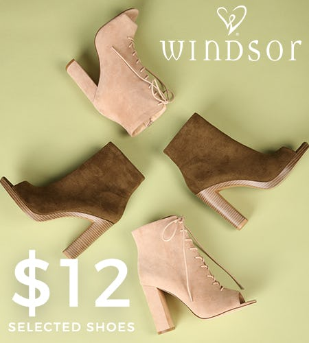 Hot Deal on Shoes! from Windsor