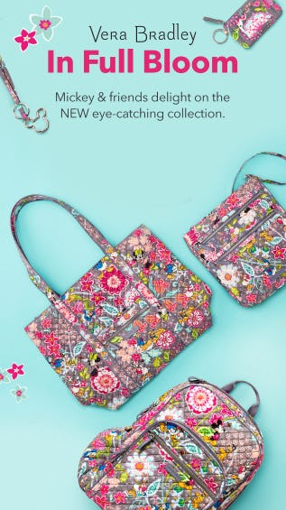 Vera Bradley Is Back with Mickey & Friends from Disney Store