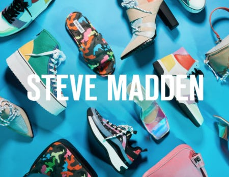 Shop New Arrivals from Steve Madden