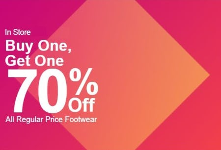 BOGO 70% Off All Regular Price Footwear from Call It Spring