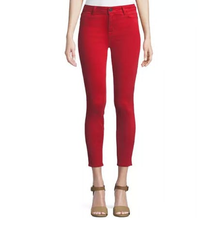 Parker Smith Ava Skinny-Leg Crop Jeans from Neiman Marcus
