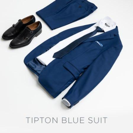 Tipton Blue Suit