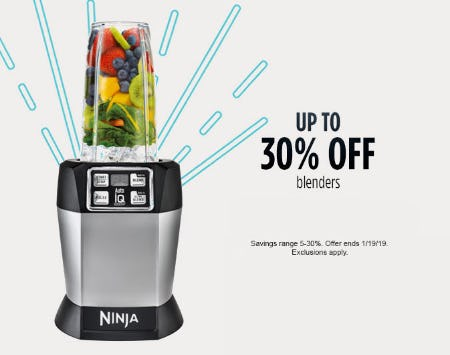 Up To 30 Off Blenders