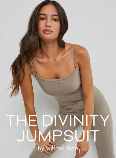 The Divinity Jumpsuit by Wilfred Free