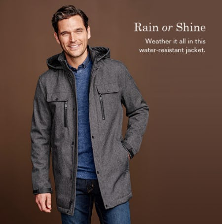 The Hooded Soft Shell Jacket