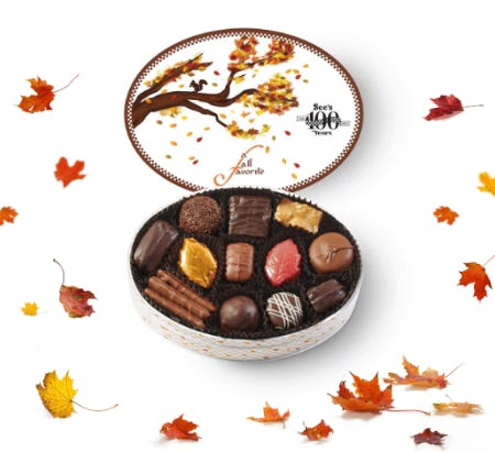 Taste of Fall from See's Candies